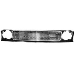1971-72 MUSTANG POLISHED BILLET GRILLE, Without Sports Lamps