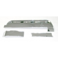 1967-68 DELUXE INSTRUMENT PANEL TRIM, Deluxe, Chrome Plated (3 Pc)