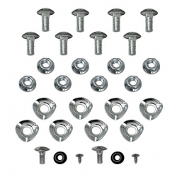 1970 BUMPER BOLT MOUNTING KIT, Front & Rear (30 Pcs)