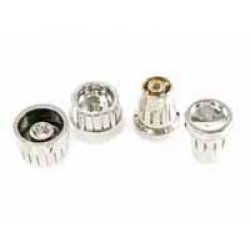 Model One Chrome  Radio Knobs