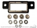 1964-66 Ford Mustang Retrosound  Bezel and Knob Kit